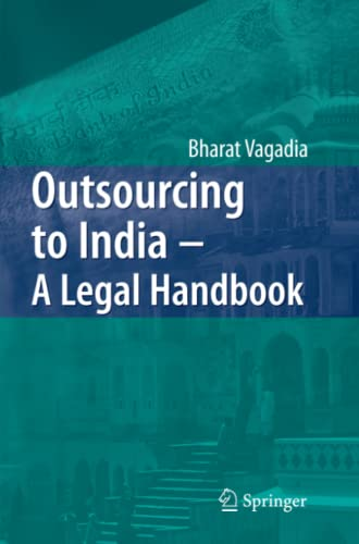 9783642091360: Outsourcing to India - A Legal Handbook