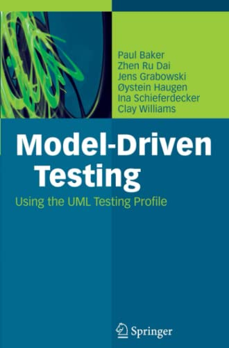 9783642091599: Model-Driven Testing: Using the UML Testing Profile