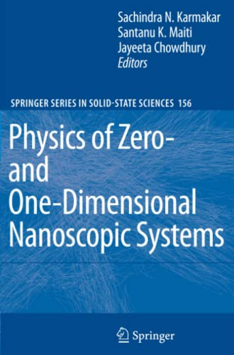 9783642091674: Physics of Zero- and One-Dimensional Nanoscopic Systems (Springer Series in Solid-State Sciences)