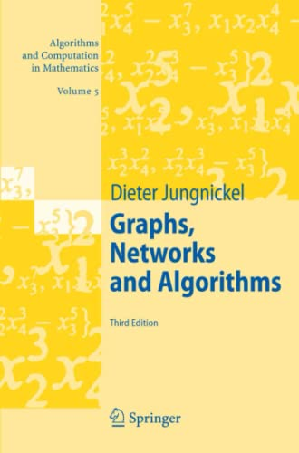 9783642091865: Graphs, Networks and Algorithms (Algorithms and Computation in Mathematics)