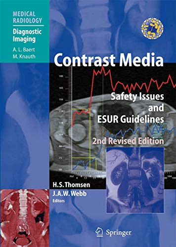 9783642091889: Contrast Media: Safety Issues and ESUR Guidelines (Medical Radiology)