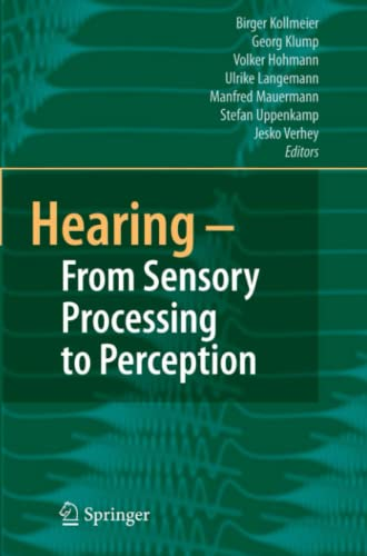 9783642092114: Hearing - From Sensory Processing to Perception