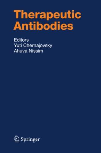 9783642092305: Therapeutic Antibodies (Handbook of Experimental Pharmacology)