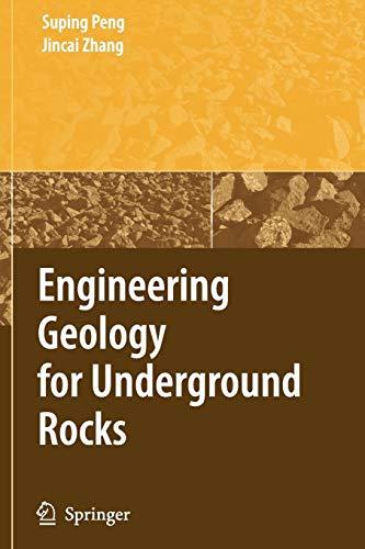 9783642092343: Engineering Geology for Underground Rocks