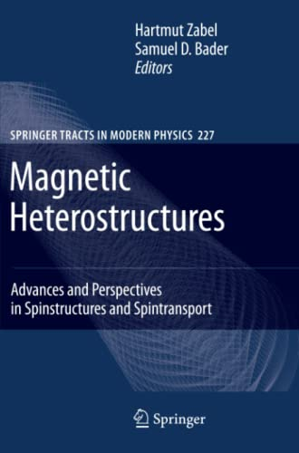 Magnetic Heterostructures Advances and Perspectives in Spinstructures and Spintransport Springer ...