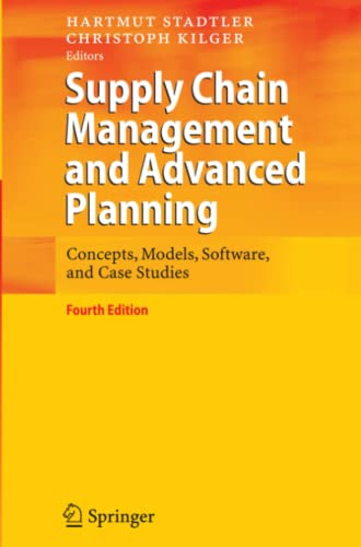 9783642093920: Supply Chain Management and Advanced Planning: Concepts, Models, Software, and Case Studies