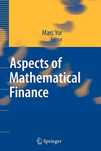 9783642094521: Aspects of Mathematical Finance