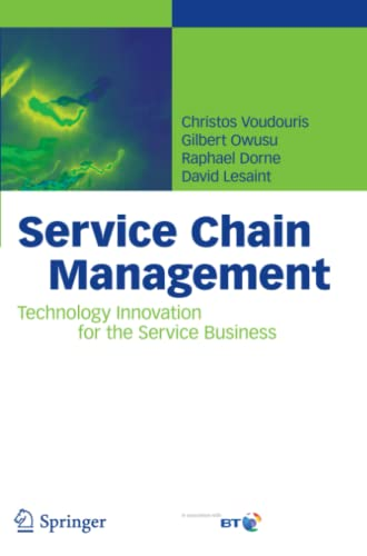 9783642094750: Service Chain Management: Technology Innovation for the Service Business
