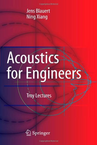 9783642095214: Acoustics for Engineers: Troy Lectures