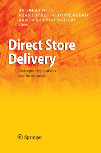 9783642095917: Direct Store Delivery: Concepts, Applications and Instruments