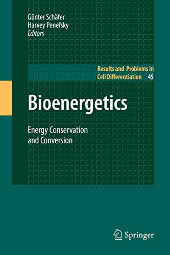 9783642097362: Bioenergetics: Energy Conservation and Conversion (Results and Problems in Cell Differentiation)