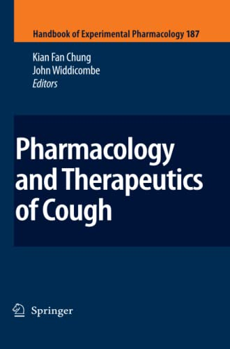 9783642098574: Pharmacology and Therapeutics of Cough (Handbook of Experimental Pharmacology)