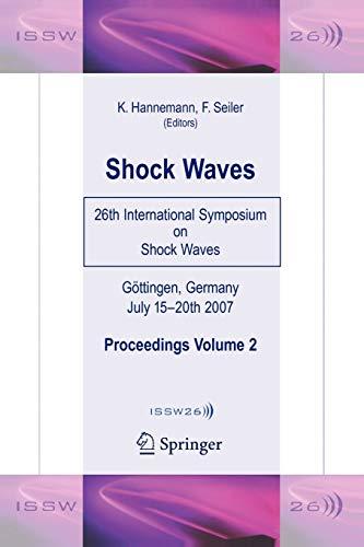 Shock Waves : 26th International Symposium on: Hannemann, Klaus