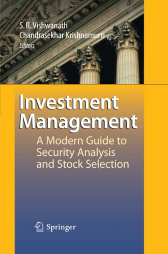 9783642100239: Investment Management: A Modern Guide to Security Analysis and Stock Selection
