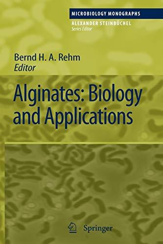 9783642100819: Alginates: Biology and Applications (Microbiology Monographs)