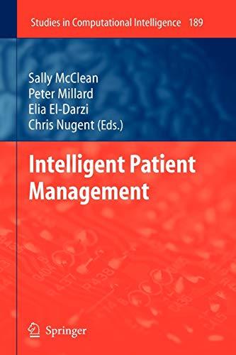 Intelligent Patient Management (Studies in Computational Intelligence): Springer