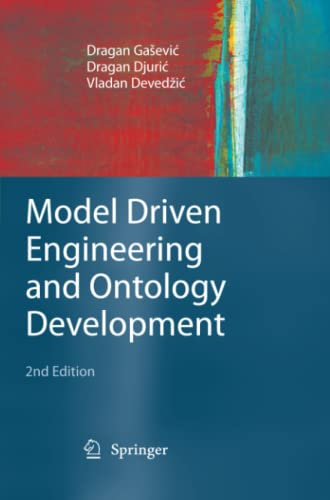 9783642101342: Model Driven Engineering and Ontology Development