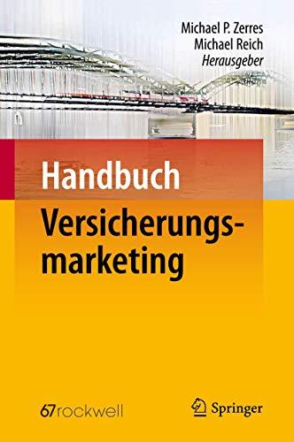 9783642102752: Handbuch Versicherungsmarketing (German Edition)