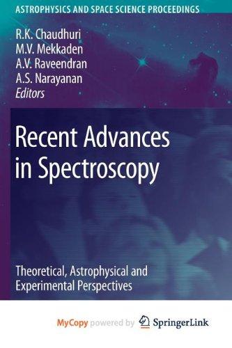 9783642103599: Recent Advances in Spectroscopy
