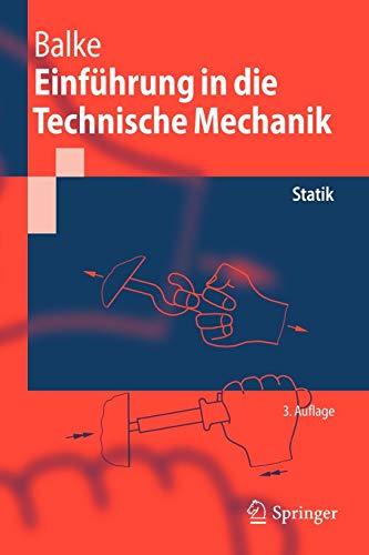 9783642103971: Einführung in die Technische Mechanik: Statik (Springer-Lehrbuch) (German Edition)