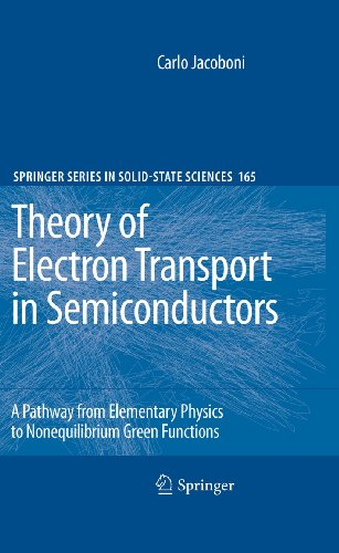 9783642105852: Theory of Electron Transport in Semiconductors: A Pathway from Elementary Physics to Nonequilibrium Green Functions (Springer Series in Solid-State Sciences)