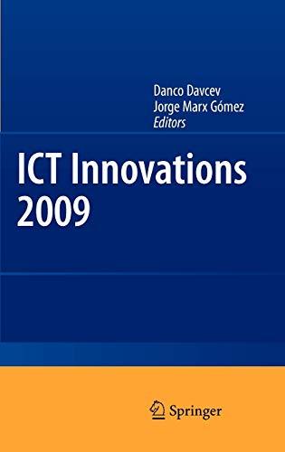 ICT Innovations 2009: Danco Davcev