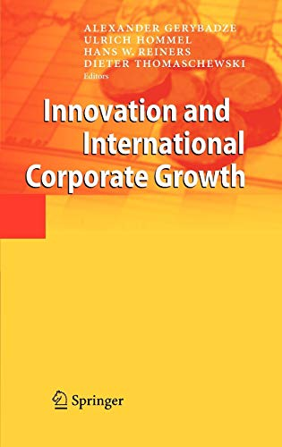 9783642108228: Innovation and International Corporate Growth