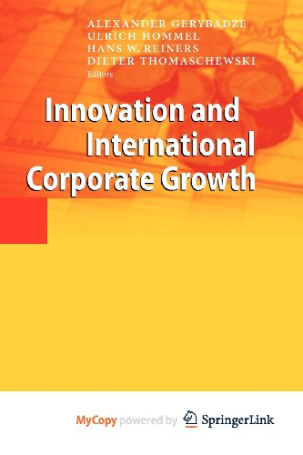 9783642108242: Innovation and International Corporate Growth