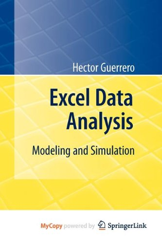 9783642108365: Excel Data Analysis