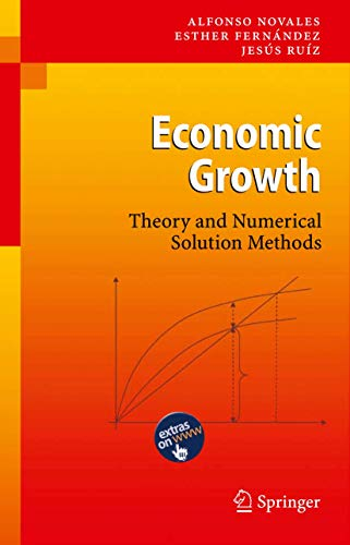 9783642111327: Economic Growth: Theory and Numerical Solution Methods