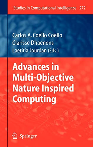 9783642112171: Advances in Multi-Objective Nature Inspired Computing (Studies in Computational Intelligence)