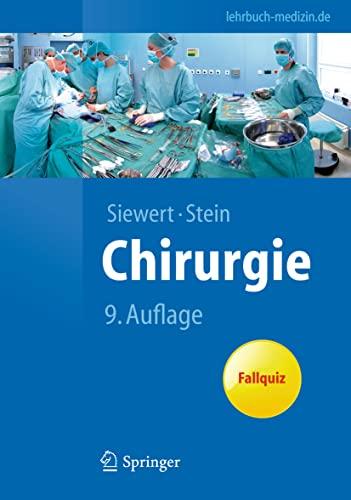 9783642113307: Chirurgie: mit integriertem Fallquiz - 40 Fälle nach neuer AO (Springer-Lehrbuch) (German Edition)