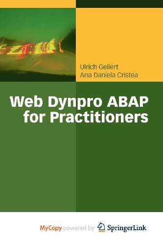 9783642114038: Web Dynpro ABAP for Practitioners