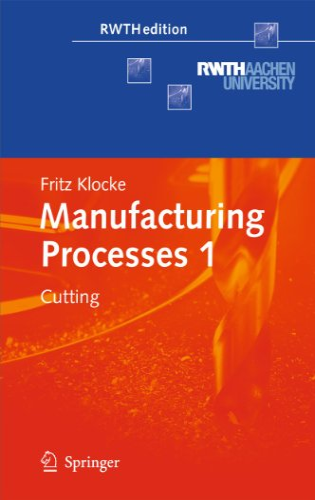 Manufacturing Processes 1: Fritz Klocke