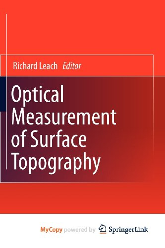 9783642120138: Optical Measurement of Surface Topography