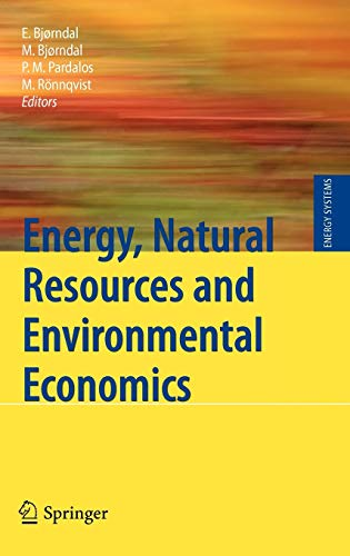 9783642120664: Energy, Natural Resources and Environmental Economics (Energy Systems)
