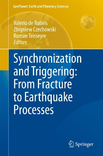 Synchronization and Triggering: from Fracture to Earthquake Processes: Valerio de Rubeis