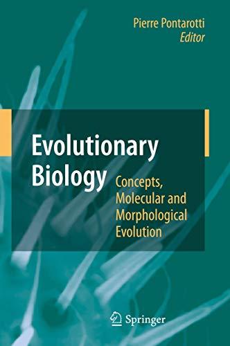9783642123399: Evolutionary Biology - Concepts, Molecular and Morphological Evolution