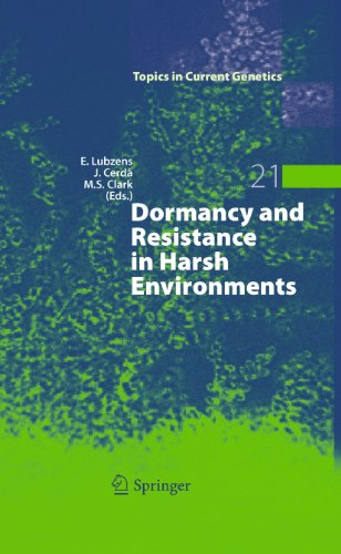 Dormancy and Resistance in Harsh Environments: Esther Lubzens