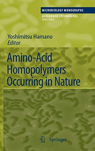 Amino-Acid Homopolymers Occurring in Nature: Yoshimitsu Hamano