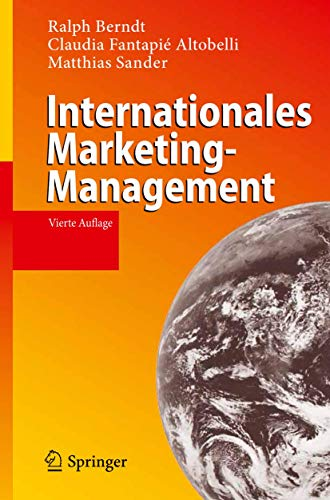 9783642126901: Internationales Marketing-Management (German Edition)