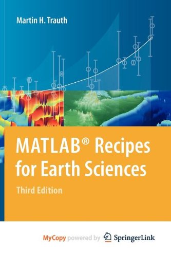 9783642127632: MATLAB® Recipes for Earth Sciences
