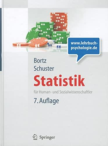 9783642127694: Statistik f�r Human- und Sozialwissenschaftler. Lehrbuch mit Online-Materialien (Springer-Lehrbuch)