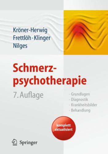 9783642127823: Schmerzpsychotherapie: Grundlagen - Diagnostik - Krankheitsbilder - Behandlung
