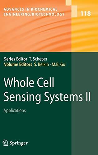 Whole Cell Sensing System II: Shimshon S. Belkin