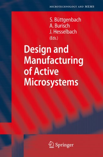 9783642129025: Design and Manufacturing of Active Microsystems (Microtechnology and MEMS)