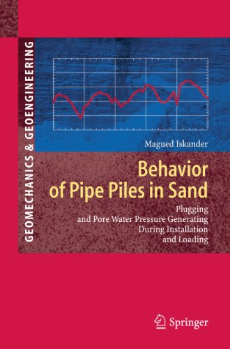 9783642131073: Behavior of Pipe Piles in Sand: Plugging & Pore-Water Pressure Generation During Installation and Loading (Springer Series in Geomechanics and Geoengineering)