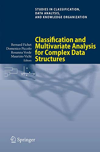 9783642133114: Classification and Multivariate Analysis for Complex Data Structures (Studies in Classification, Data Analysis, and Knowledge Organization)