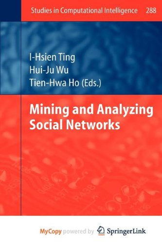 9783642134234: Mining and Analyzing Social Networks