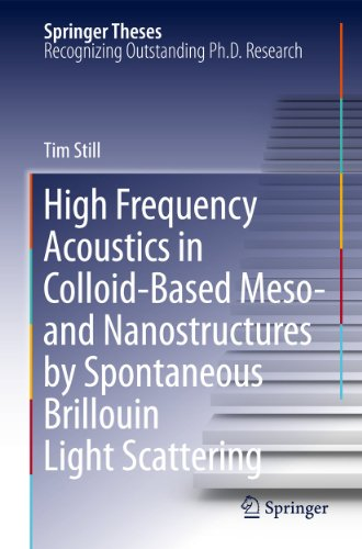 9783642134821: High Frequency Acoustics in Colloid-Based Meso- and Nanostructures by Spontaneous Brillouin Light Scattering (Springer Theses)